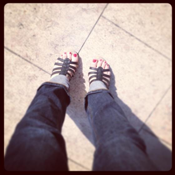 blog mariage, petites chaussures d'été, mes petits bonheurs de la semaine